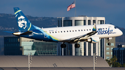 A picture of N171SY - Embraer E175LR - Alaska Airlines - © Jordan Louie