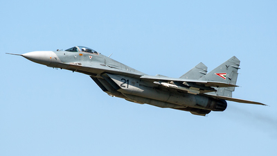 21 - Mikoyan-Gurevich MiG-29A Fulcrum - Hungary - Air Force