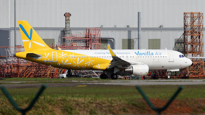 F-WXAH  - Airbus A320-214 - Vanilla Air