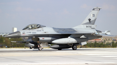 84709 - General Dynamics F-16AM Fighting Falcon - Pakistan - Air Force
