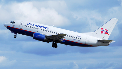 LN-BRX - Boeing 737-505 - Braathens