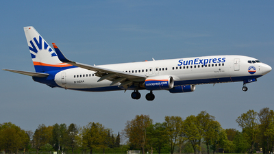 D-ASXA - Boeing 737-8Z9 - SunExpress Germany
