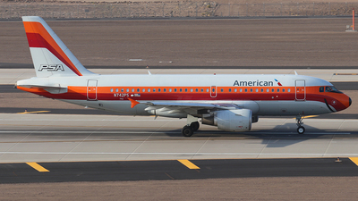 N742PS - Airbus A319-112 - American Airlines