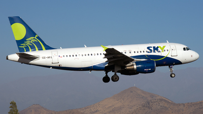 CC-AFZ - Airbus A319-111 - Sky Airline