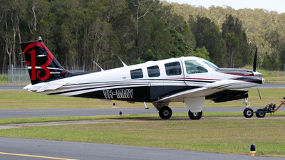 VH-MMY - Beech A36 Bonanza - Private