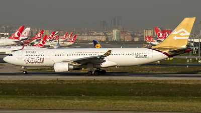 5A-LAU - Airbus A330-202 - Libyan Airlines