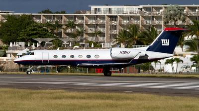 N18NY - Gulfstream G450 - Private