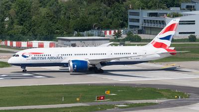 G-ZBJM - Boeing 787-8 Dreamliner - British Airways