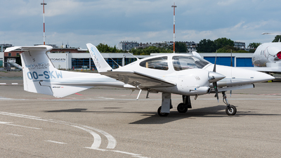 A picture of OOSKW - Diamond DA42 Twin Star - [42.215] - © J.Evrard-AirTeamImages