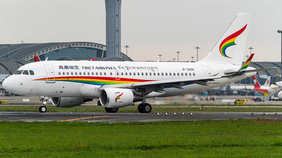 A picture of B320G - Airbus A319115 - Tibet Airlines - © Miaomiao