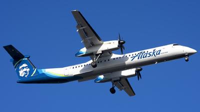 A picture of N430QX - De Havilland Canada Dash 8400 - Alaska Airlines - © Michael Rodeback