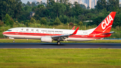 A picture of B1425 - Boeing 73789P - China United Airlines - © SINO6702