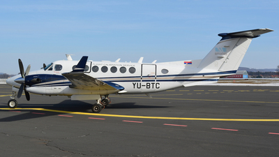 YU-BTC - Beechcraft B300 King Air 350 - Serbia and Montenegro - Air Traffic Services Agency (SMATSA)