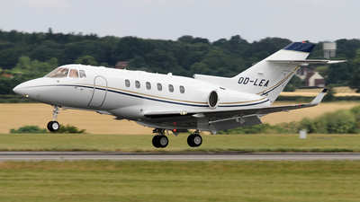 A picture of ODLEA - Hawker 850XP - [258792] - © Terry Figg