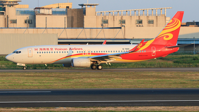 B-7400 - Boeing 737-86N - Hainan Airlines