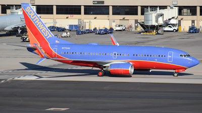 A picture of N7734H - Boeing 7377BD - Southwest Airlines - © Alexander Aston