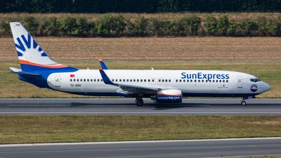 TC-SNV - Boeing 737-86J - SunExpress