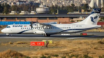EP-ITG - ATR 72-212A(600) - Iran Air