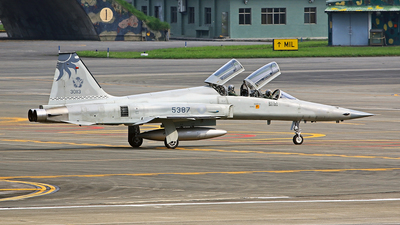 5387 - Northrop F-5F Tiger II - Taiwan - Air Force