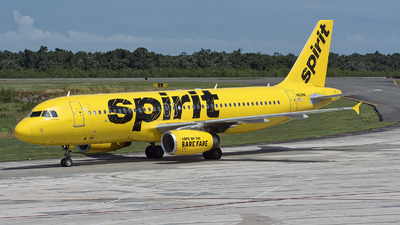 N601NK - Airbus A320-232 - Spirit Airlines