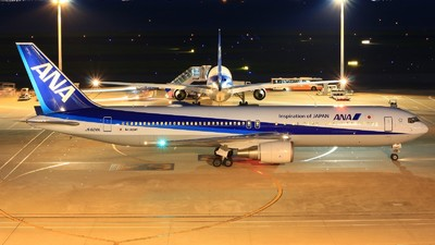 JA604A - Boeing 767-381(ER) - All Nippon Airways (Air Japan)