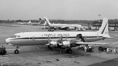 N287 - Douglas DC-7C Seven Seas - Temple Airlines