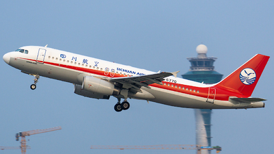 B-6770 - Airbus A320-232 - Sichuan Airlines