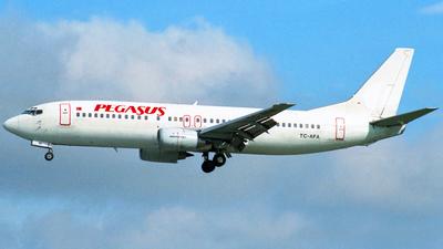 TC-AFA - Boeing 737-4Q8 - Pegasus Airlines
