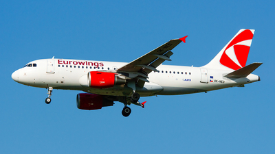 OK-NEO - Airbus A319-112 - Eurowings (CSA Czech Airlines)