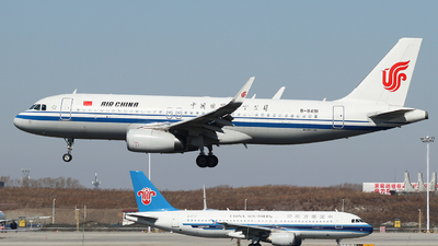 A picture of B8491 - Airbus A320232 - Air China - © King Wang