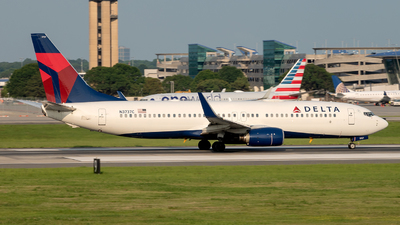 A picture of N3737C - Boeing 737832 - Delta Air Lines - © Yan777