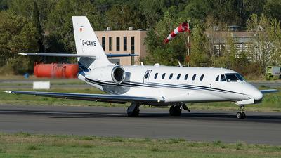 D-CAWS - Cessna 680 Citation Sovereign - Aerowest