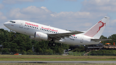 TS-ION - Boeing 737-6H3 - Tunisair