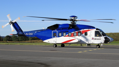 A picture of LNOID - Sikorsky S92A - Bristow Helicopters - © Eddie Heisterkamp