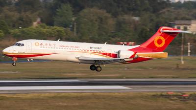 A picture of B3387 - Comac ARJ21700 - Chengdu Airlines - © XieTM