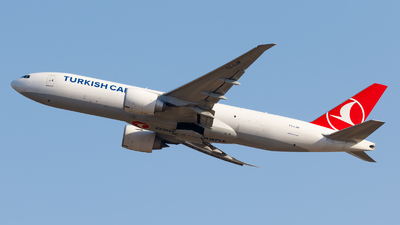 A picture of TCLJM - Boeing 777FF2 - Turkish Airlines - © Eyal Zarrad