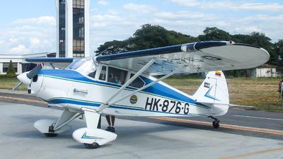 HK-876-G - Piper PA-22-125 Tri-Pacer - Private