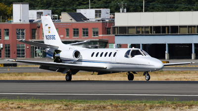 N393E - Cessna 550 Citation II - Private