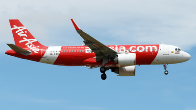 A picture of 9MRAQ - Airbus A320251N - AirAsia - © Vicknesh PS