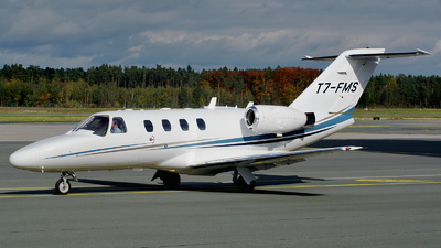 T7-FMS - Cessna 525 CitationJet 1 - Private