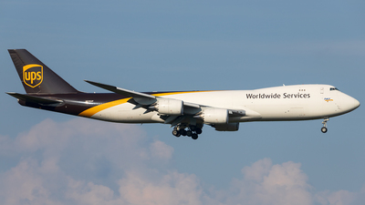 A picture of N616UP - Boeing 7478F - UPS - © SF 340
