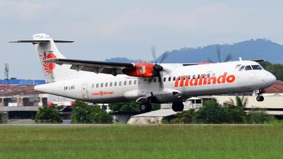 9M-LMG - ATR 72-212A(600) - Malindo Air