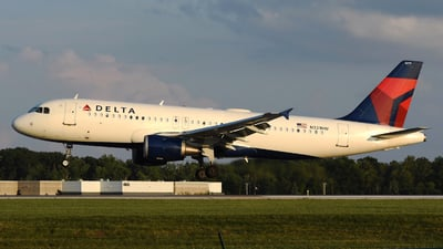 A picture of N331NW - Airbus A320211 - Delta Air Lines - © DJ Reed - OPShots Photo Team
