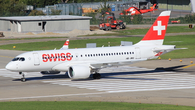 HB-JBD - Bombardier CSeries CS100  - Swiss
