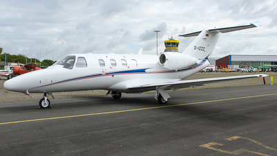 D-IZZZ - Cessna 525 Citation CJ1 - Private