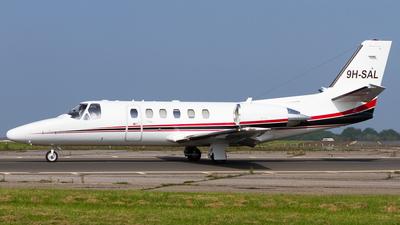 9H-SAL - Cessna 550B Citation Bravo - Hyperion Aviation