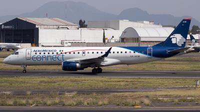 XA-ACM - Embraer 190-100LR - Aeroméxico Connect