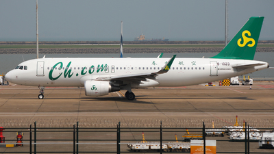 B-1023 - Airbus A320-214 - Spring Airlines