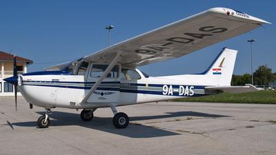 9A-DAS - Cessna 172N Skyhawk II - Fakultet prometnih znanosti