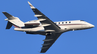 N777QS - Bombardier BD-100-1A10 Challenger 350 - NetJets Aviation